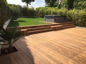 création de terrasse spa intégré